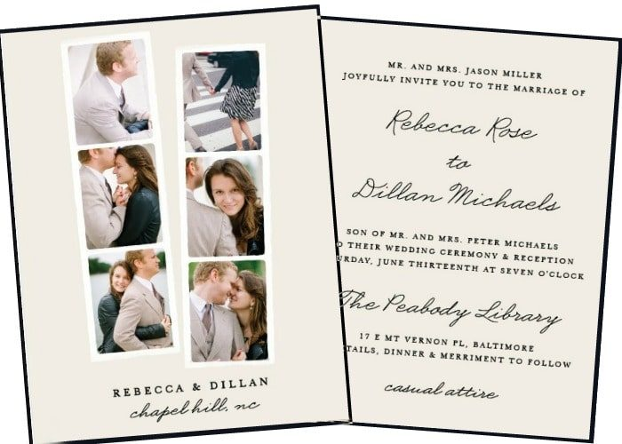 Affordable Wedding Invitations – Our Top Picks