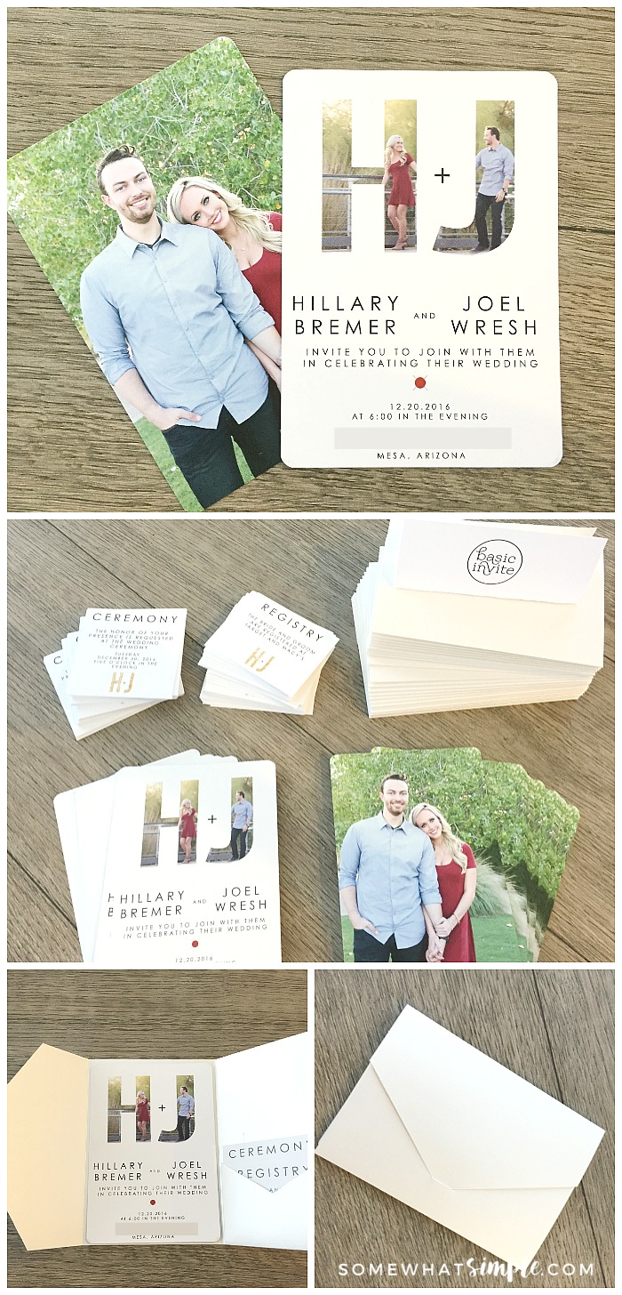Affordable Wedding Invitations - Our Top Picks - Somewhat Simple