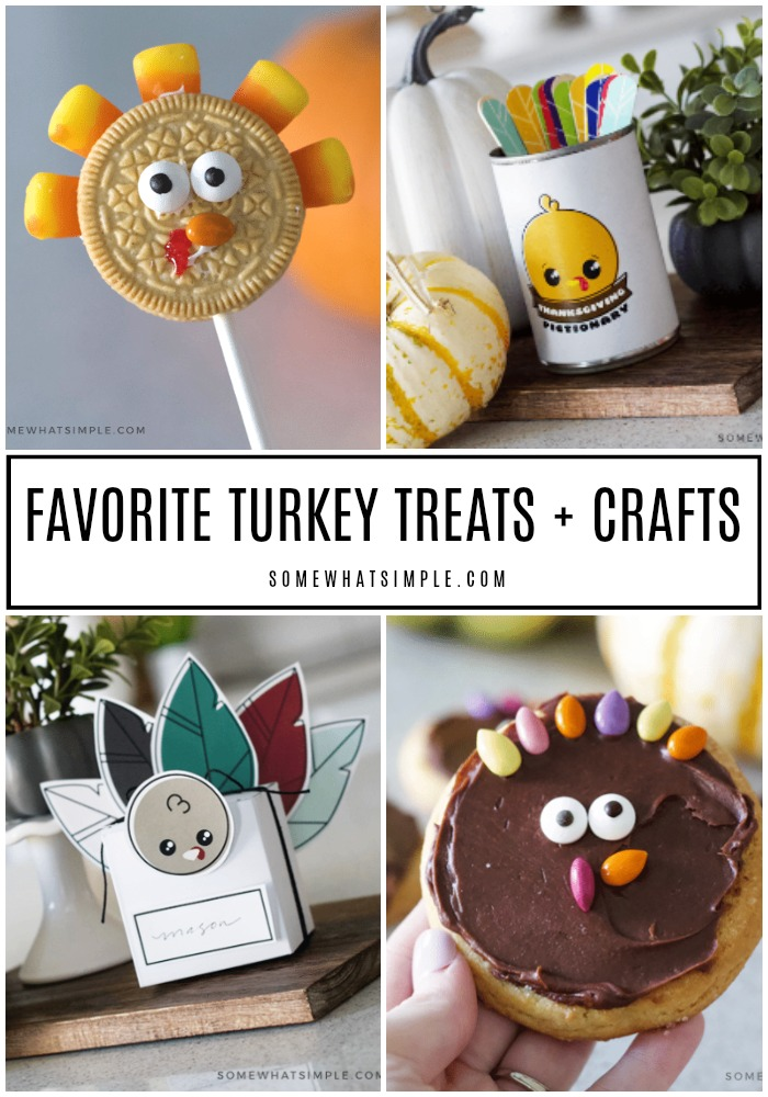 Favorite Turkey Treats and Crafts