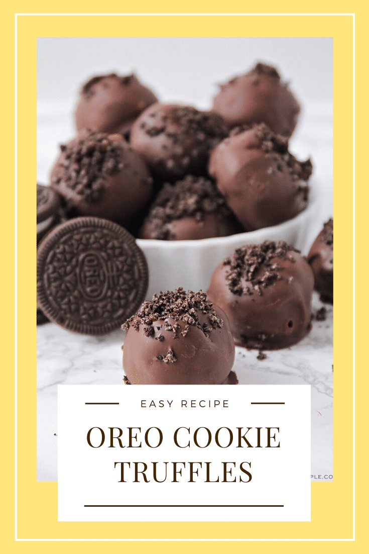 Oreo Cookie Truffles are an easy dessert that are made with the amazing combo of Oreo cookies and cream cheese. They're really easy to make and can be prepared in about 5 mins! #oreotruffles #oreocookieballs #oreocookietruffles #nobakeoreotruffles #3ingredientoreotruffles via @somewhatsimple
