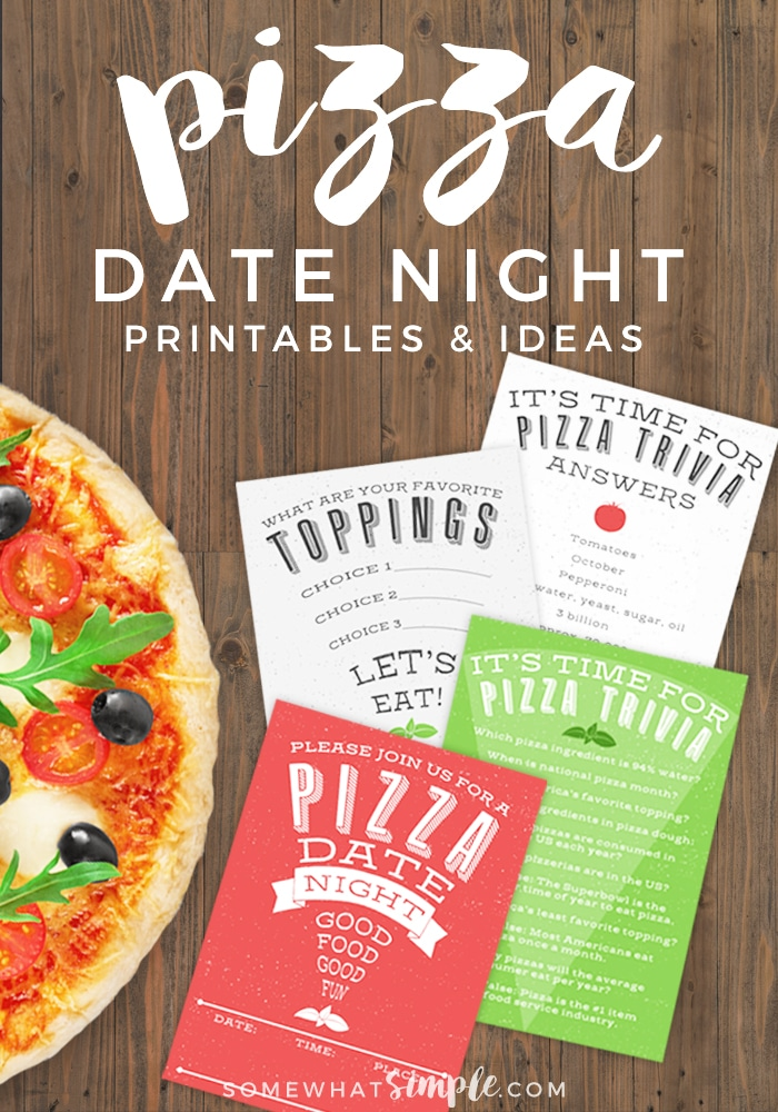 DATE IDEA - Keep this Pizza Date Night simple and low-key, share the evening with friends, or opt for a night in with just the two of you!