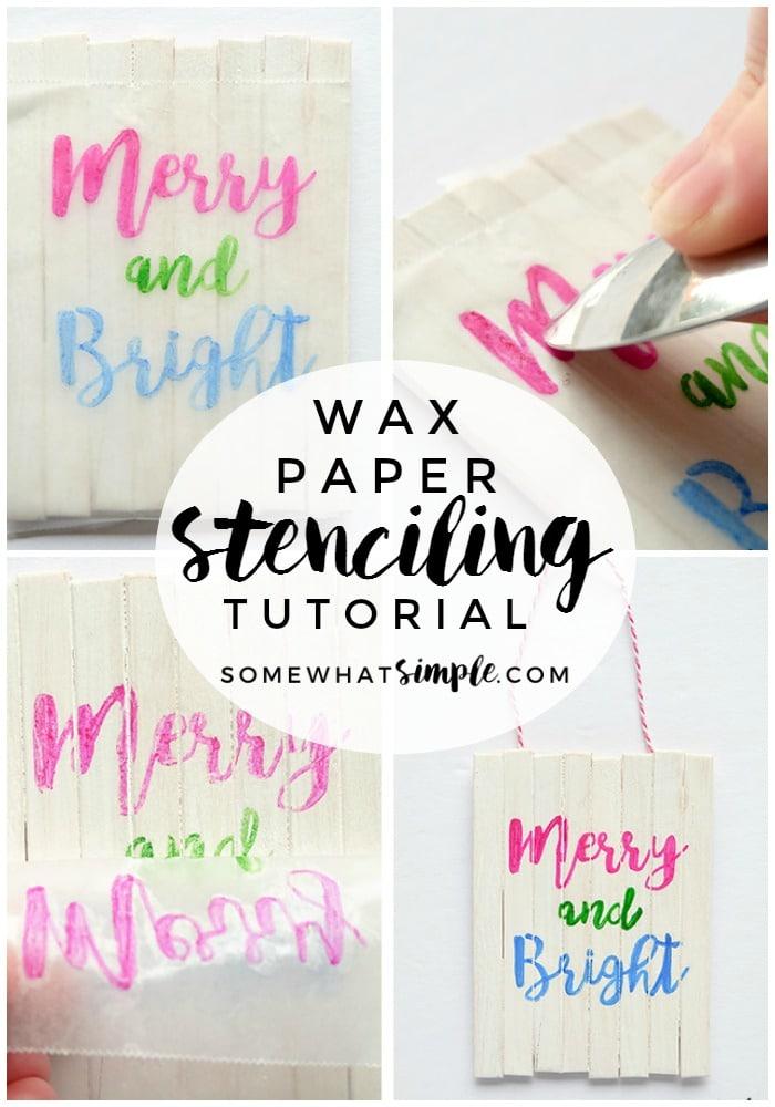 wax-paper-stencil