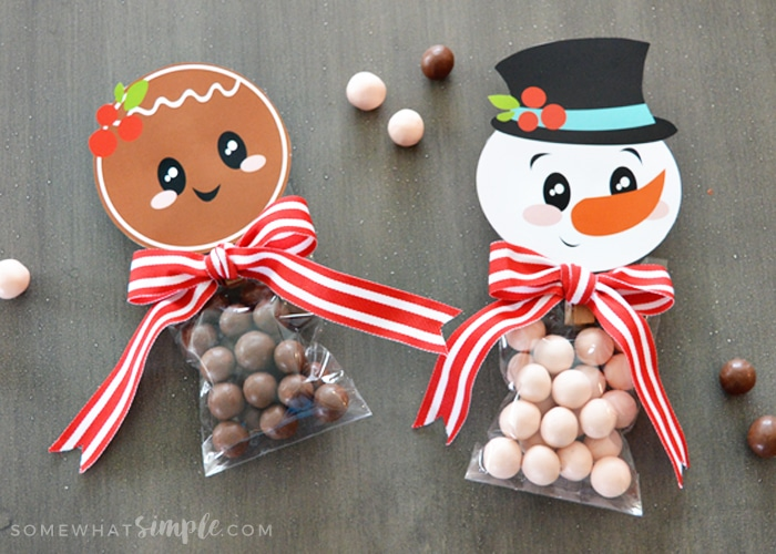 Christmas Bag Toppers