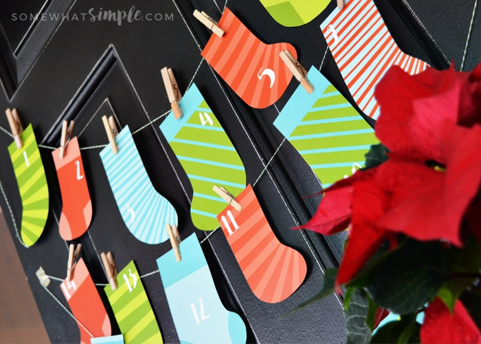 stocking-advent