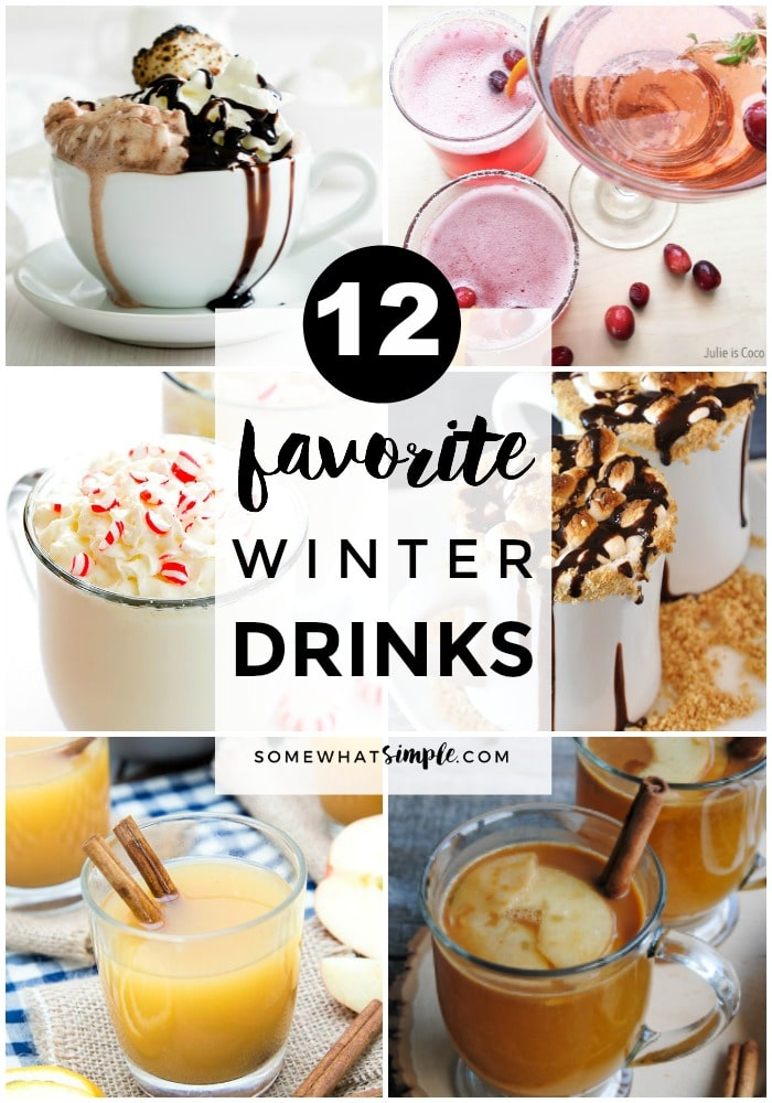 12 Favorite Winter Drinks