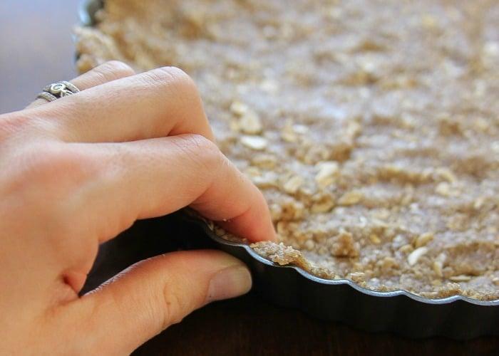 gluten free chocolate tart crust