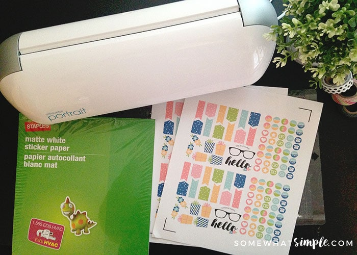 DIY Planner Sticker Supplies