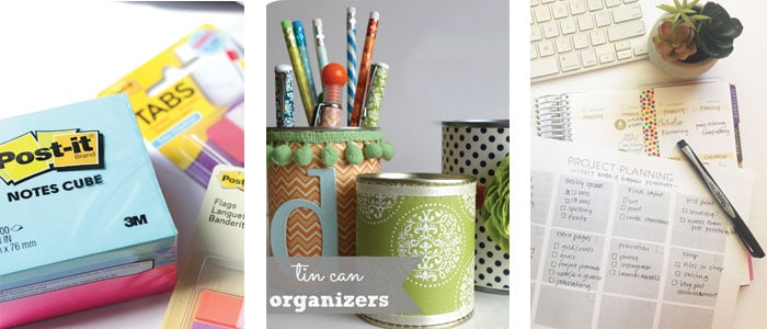 a collage of organization ideas