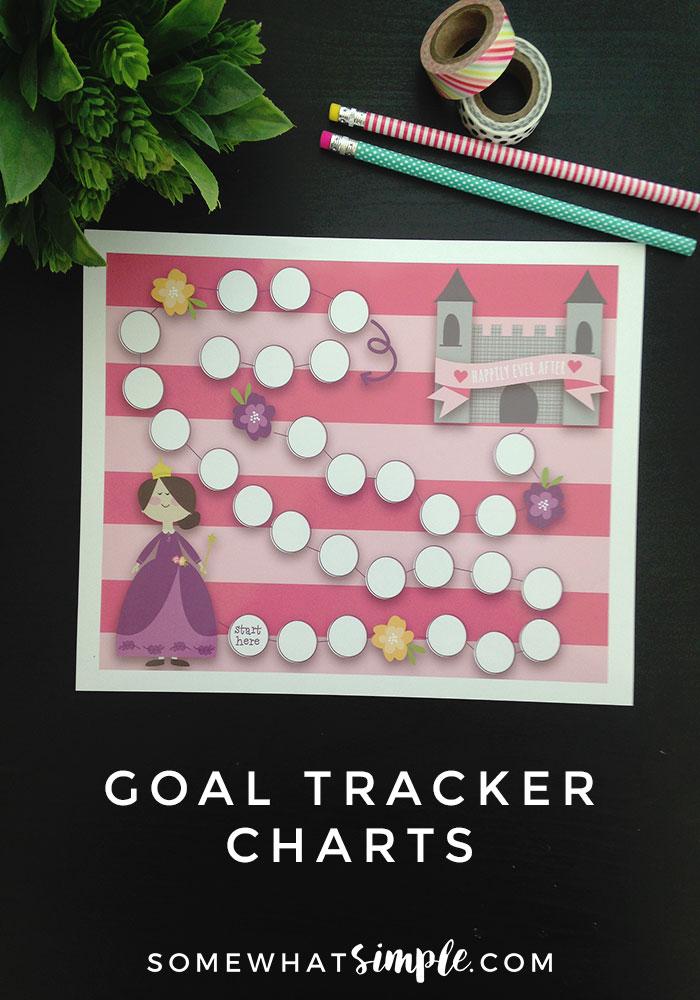 Goal Tracker Reward Chart | Princess
