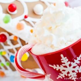 Hot Chocolate Milkshake