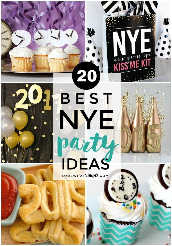 New Years Party Ideas