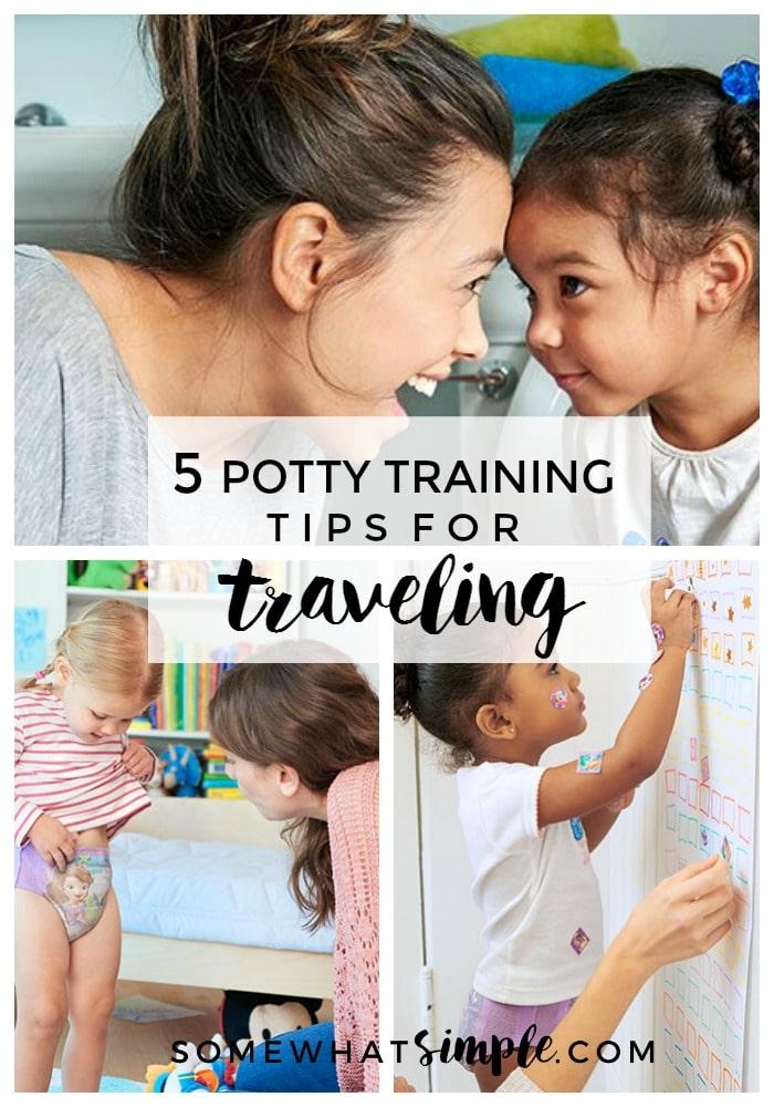potty training travel