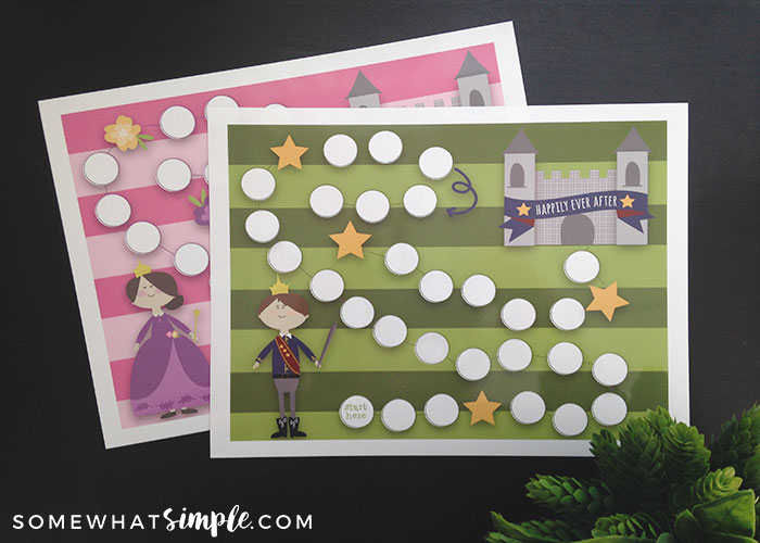 Goal Tracker Reward Charts | Prince and Princess