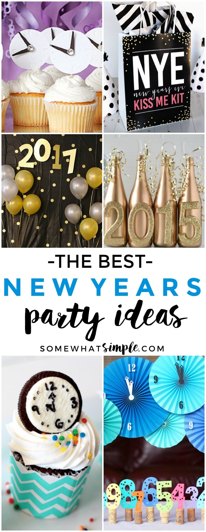 Don't stress over planning afabulous NYE party. Here are some favorite New Years Eve party ideas to make the last holiday bash of the year a total smash!