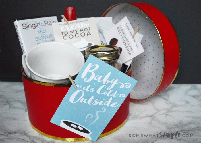 Baby It's Cold Outside Date Night + Printables