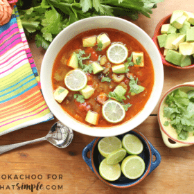 Chorizo and Black Bean Soup