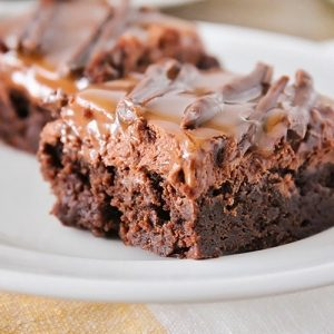 Milky Way Brownies