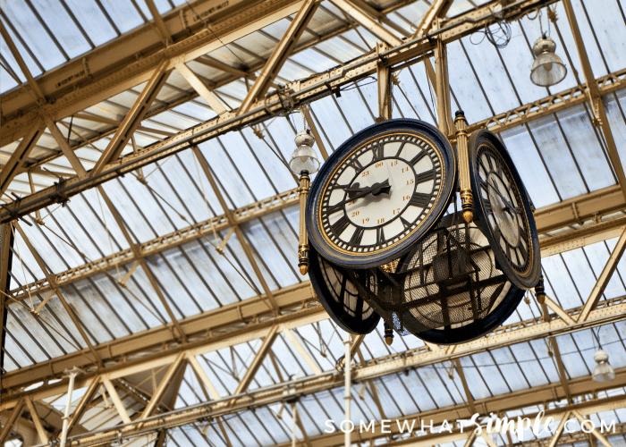 Eurostar St Pancras Station