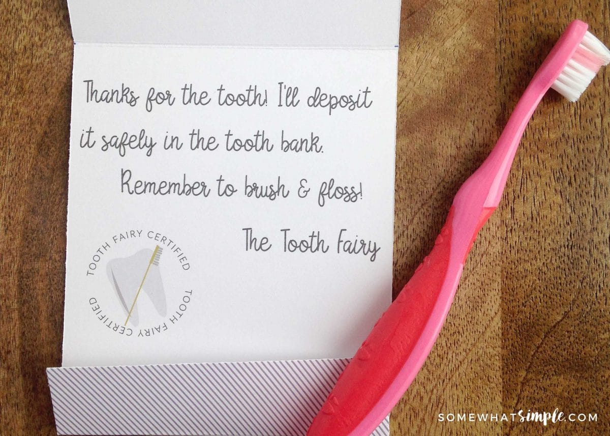 Tooth Fairy Letter Set by Prickly Pear Design Co.