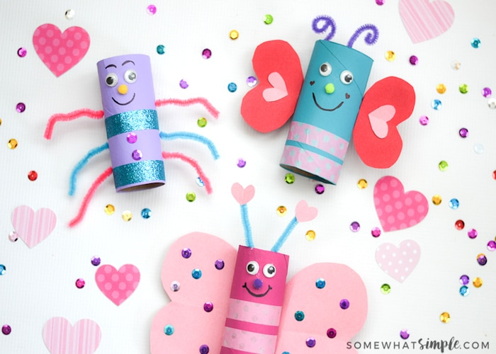 Love Bugs Valentines Day Craft for Kids