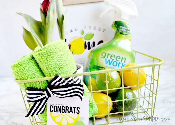 Clean and Green Gift Basket