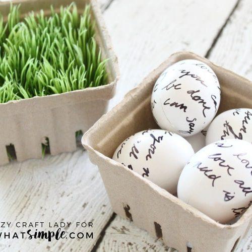 Love Letter Easter Eggs