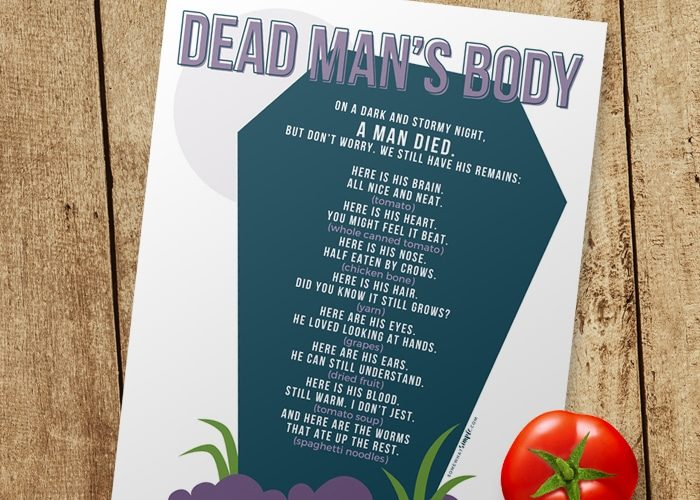 Dead Mans Body – Halloween Games for Kids