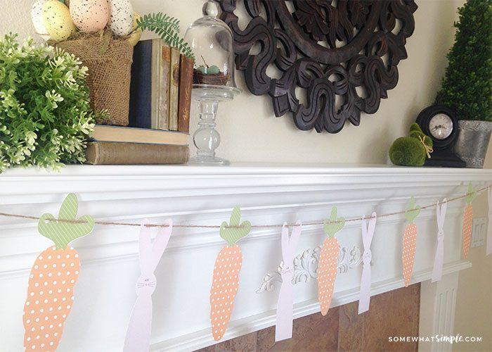 Easy Easter Bunny Banner – In 30 Minutes or Less!