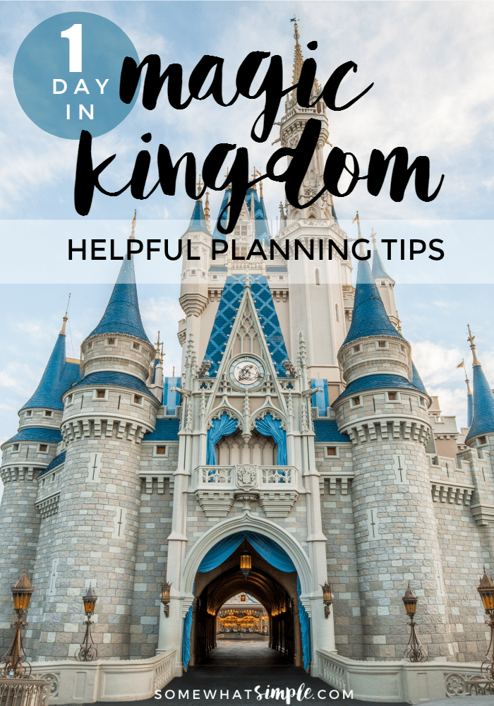 Overwhelmed at the thought of trying to see all of Magic Kingdom in a day? We are here to help! via @somewhatsimple