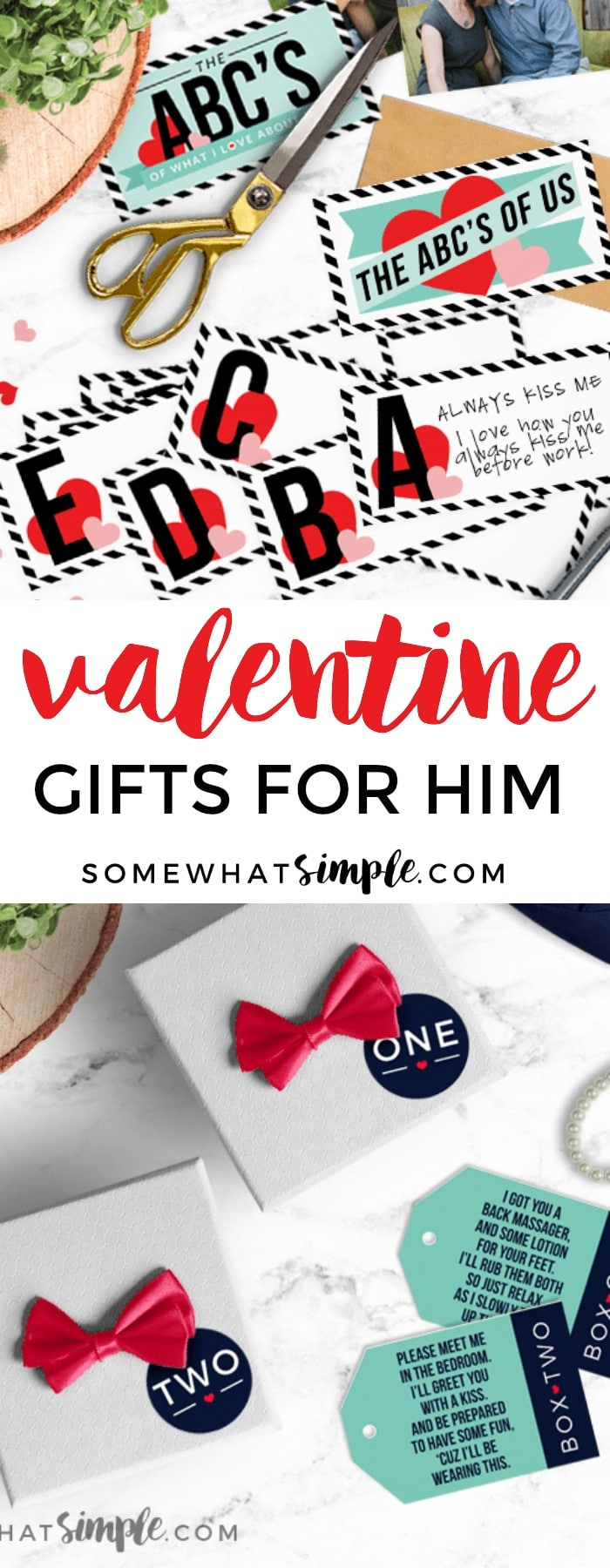 20 favorite Valentine Gifts for him that he is sure to LOVE!
