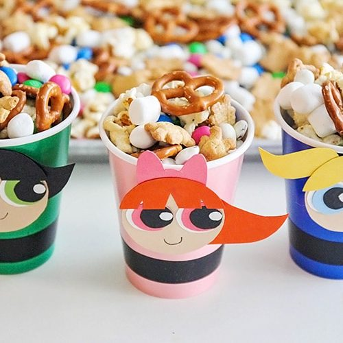 Powerpuff Girls Snack Mix