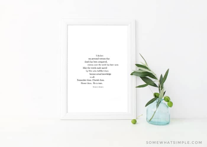Printable Easter Quote