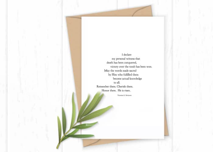 Free Printable Easter Quote