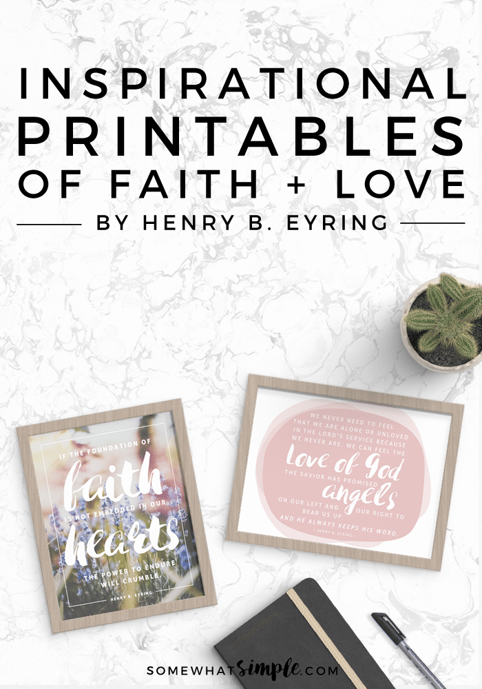 These foundation of faith + love of God printables are the perfect reminder to keep the faith, and that God does indeed love us.