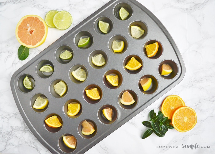 How To Make Simple Fruit Ice Cubes