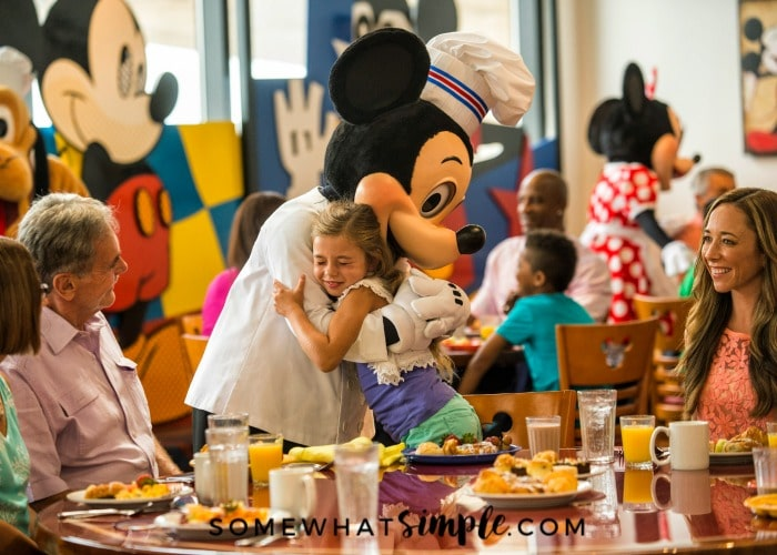Top Disney Character Dining Experiences Somewhat Simple