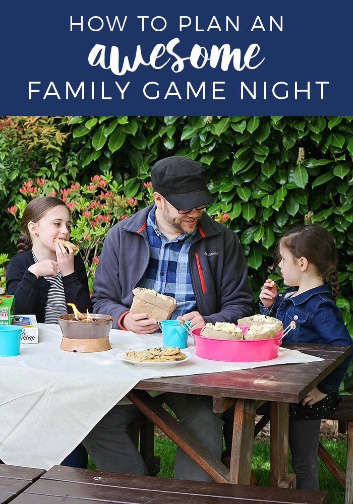 Fun Ideas For An Awesome And Memorable Outdoor Family Game Night From Simple Decorations To