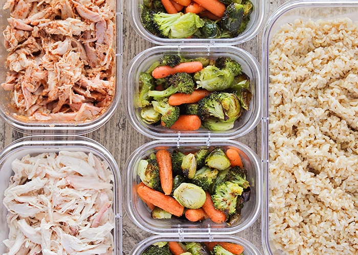 simple and quick meal prep ideas to make dinner easier somewhat