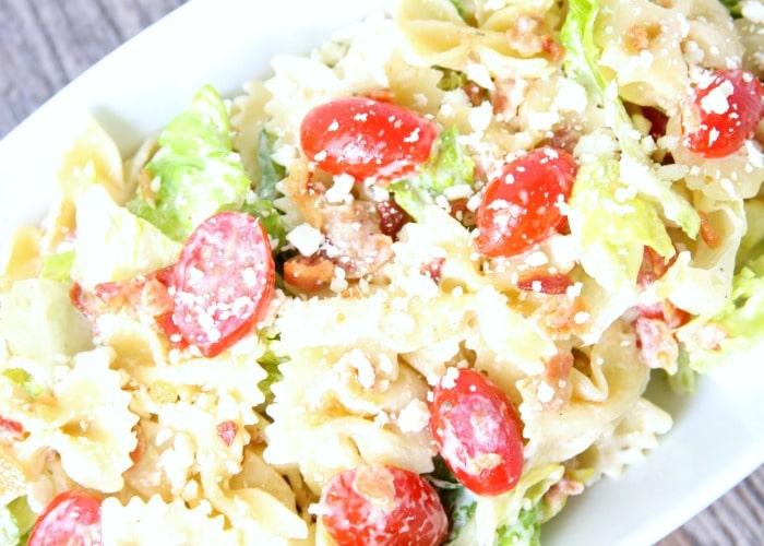 BLT Pasta Salad Recipe – Simple and Delicious!