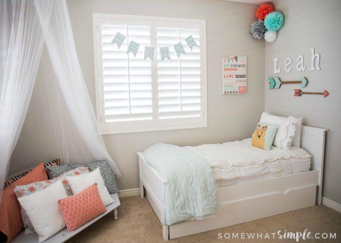 Tween Girl Bedroom – A Space Just for Leah!