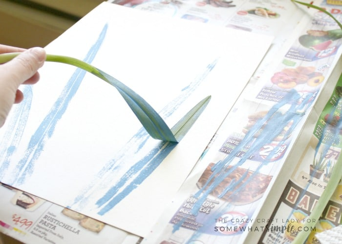 Grab a few leaves from the yard and make these painted botanical prints. This is an easy and fun summer craft for all ages!