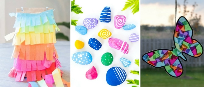 Somewhat Simple Colorful Crafts