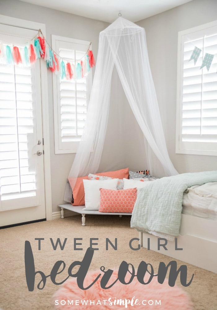 Tween Girl Bedroom Somewhat Simple
