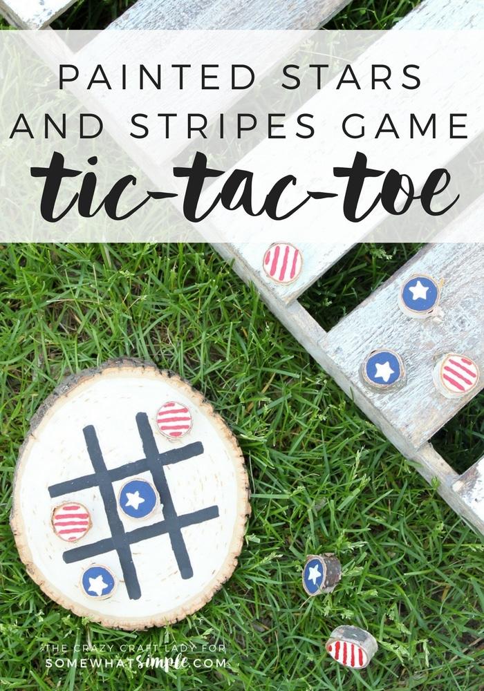 DIY Tic Tac Toe Board