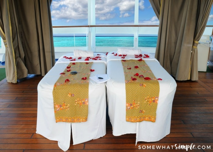 Cruise Tips - Go to the Spa