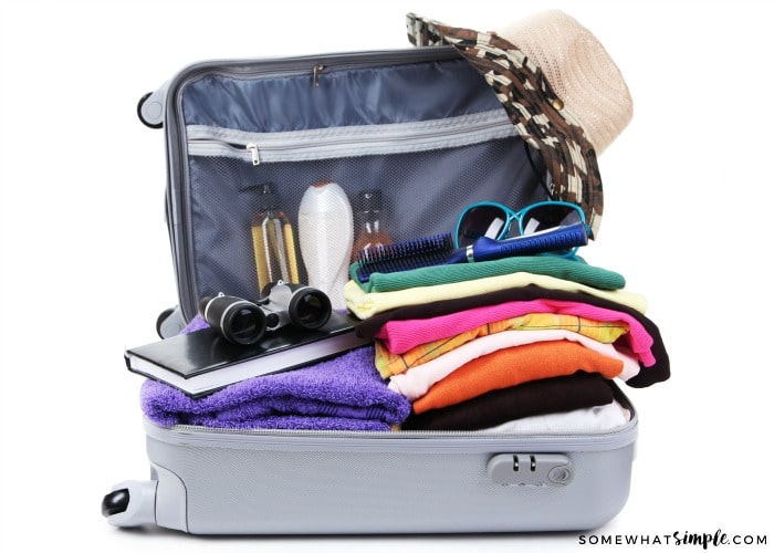 Travel Tips - Items in a Carryon