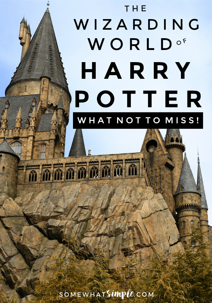 The Wizarding World of Harry Potter is one of our favorite theme-park attractions ever! Here is a list of our favorite things to do, see and EAT while there! via @somewhatsimple