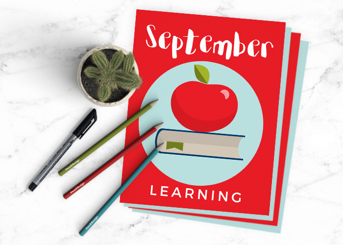 This Month's Creative Journal Pages – September 2017