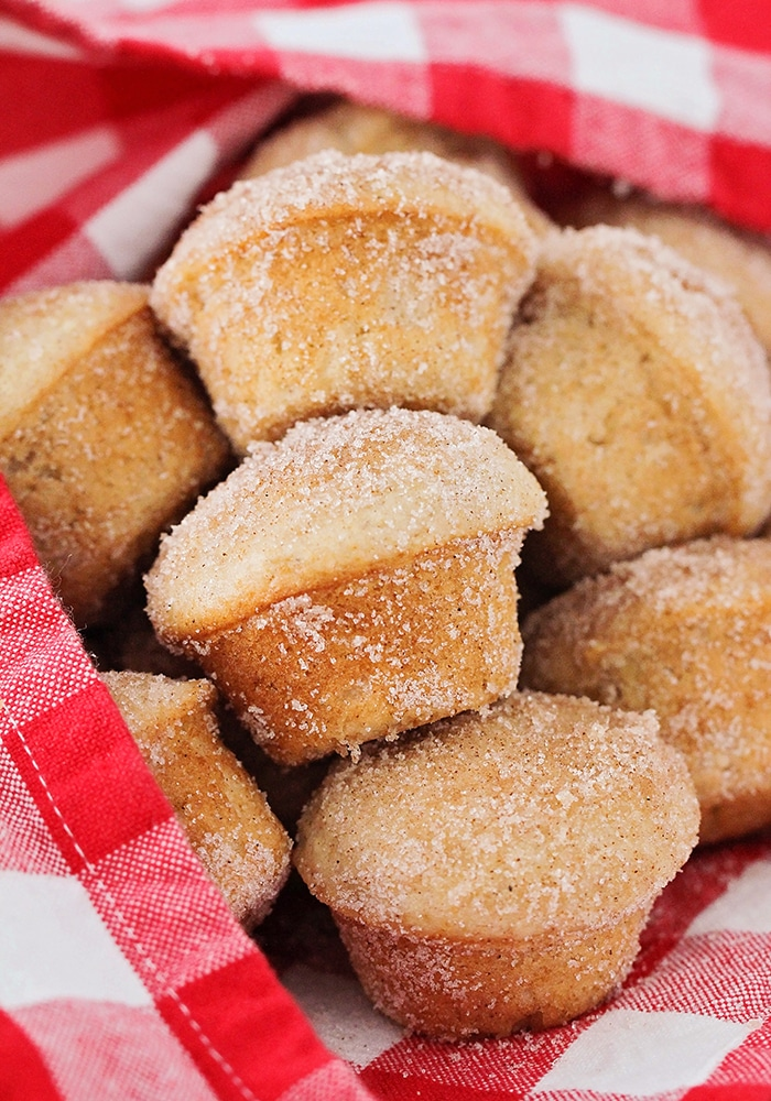 These apple cinnamon muffins are so sweet and tender, with the perfect apple flavor and a delicious cinnamon sugar topping!