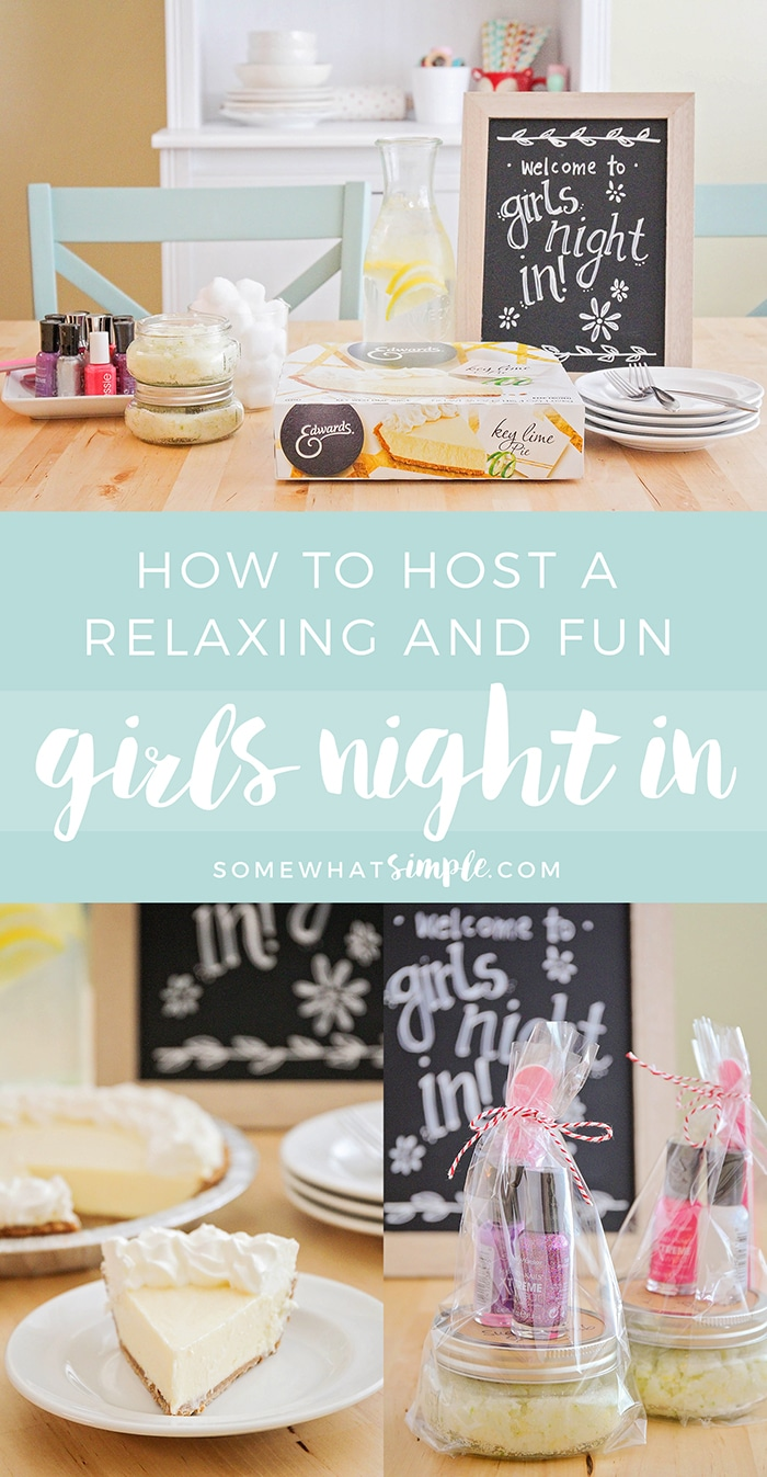 A fun and relaxing girls night is the perfect way to unwind after a busy week. We're sharing our favorite ideas to make it the best girls night ever!
